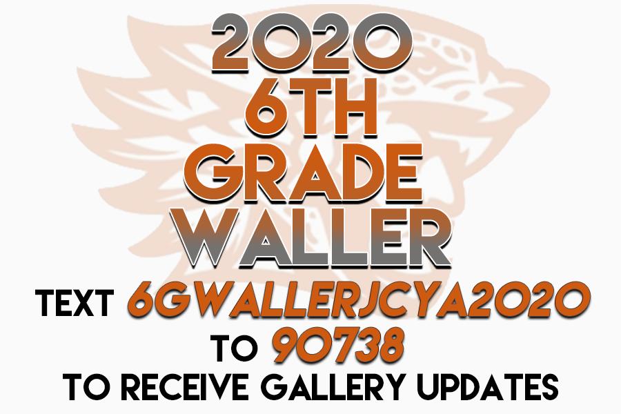 2020 JCYA 6th Grade Waller